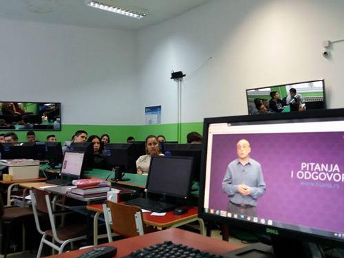 Онлајн семинар за ученике наше школе